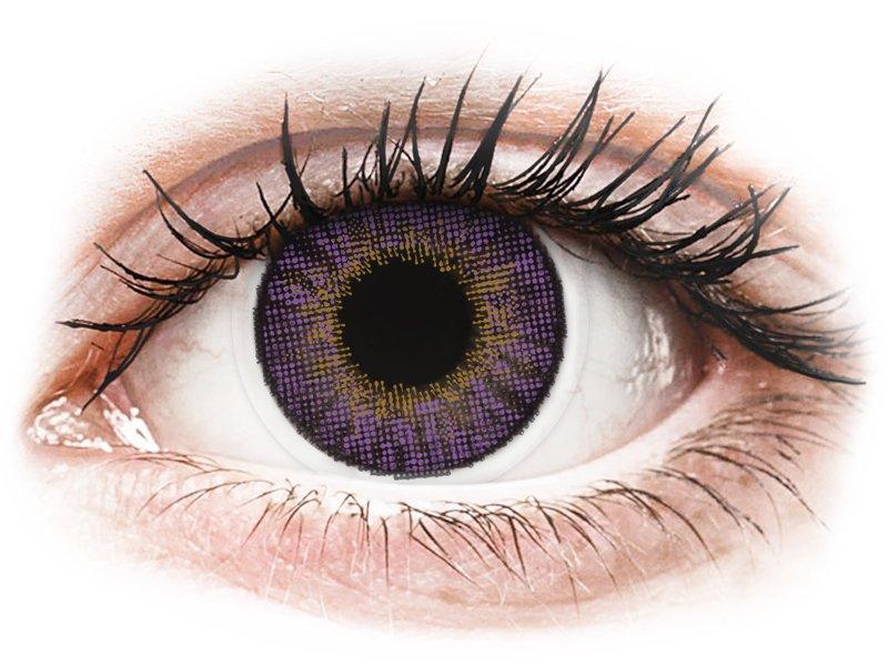 Image of Air Optix Colors - Amethyst - mit Stärke (2Linsen)